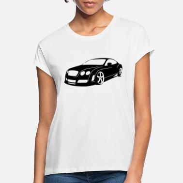 Bentley Bentley Continental GT - Frauen Oversize T-Shirt