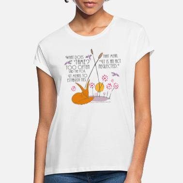 The Little Prince Friendship Taming The Fox - Women's Loose Fit T-Shirt