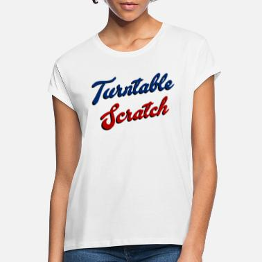 Turntable Scratch - T-shirt oversize Femme