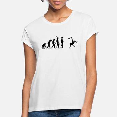 Football Bicycle Kick Evolution - T-shirt oversize Femme
