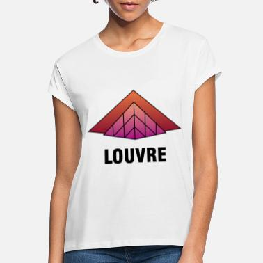 Museum Louvre Museum Paris - Women's Loose Fit T-Shirt