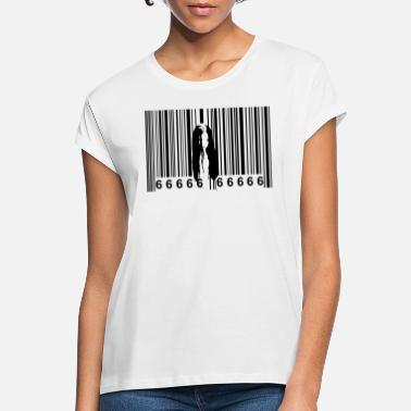 Horror Film Horror barcode - Women's Loose Fit T-Shirt