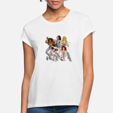 Girls Spice Girls - Spice Force Five - Vrouwen oversized T-Shirt