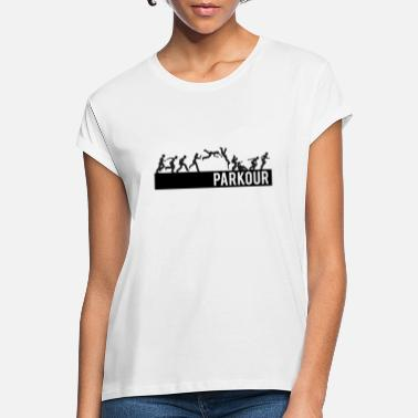 Direct from Stockist Parkour Free Running  Ladies T-Shirt
