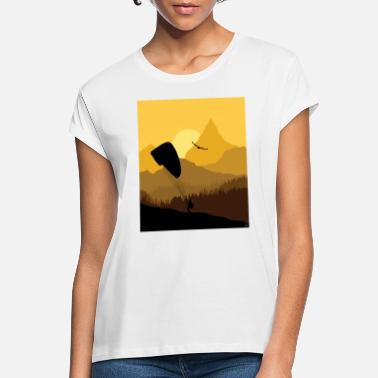 Sunset Paraglider - Women's Loose Fit T-Shirt