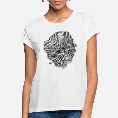 Sierra Leone Sierra Leone fingerprint - Women's Loose Fit T-Shirt
