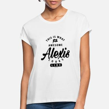 Alexis ALEXIS - Women's Loose Fit T-Shirt
