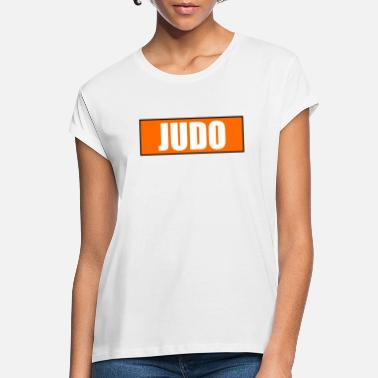 Kyu Judo Orange 5. Kyu - Frauen Oversize T-Shirt
