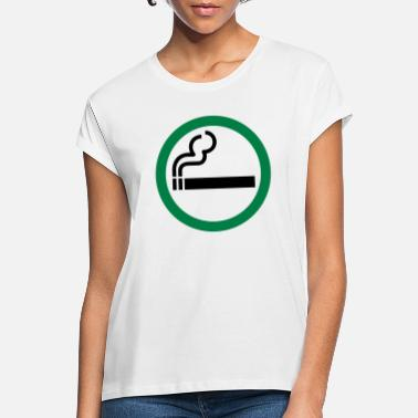 Allowed smoking allowed - Women's Loose Fit T-Shirt