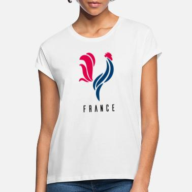 Coq Francais Coq France Football - T-shirt oversize Femme