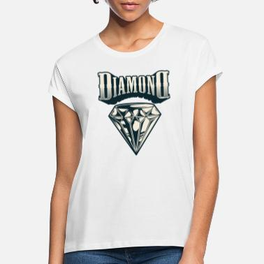 Diamond Supply Diamond - T-shirt oversize Femme