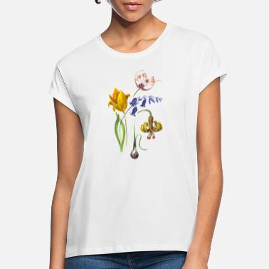 Botanical Botanical, flower, flowers, graphic, botanist - Women's Loose Fit T-Shirt