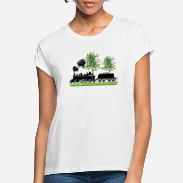 Steam Engine STEAM ENGINE with tender - Women's Loose Fit T-Shirt