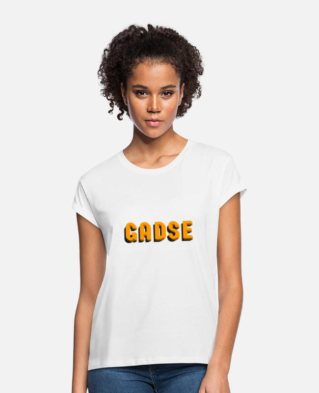 Studies T-Shirts - gadse - Women's Loose Fit T-Shirt white