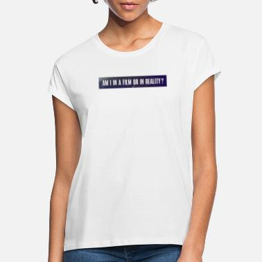 Webmyart am I in a film or in reality ? - 2 - T-shirt oversize Femme