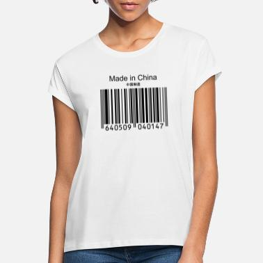 China Made in China - Vrouwen oversized T-Shirt