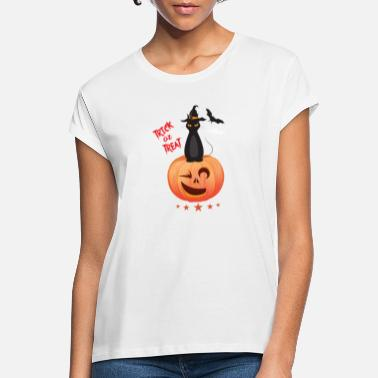 Halloween Halloween cat - Women's Loose Fit T-Shirt
