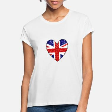 Great Britain Great Britain Heart - Women's Loose Fit T-Shirt