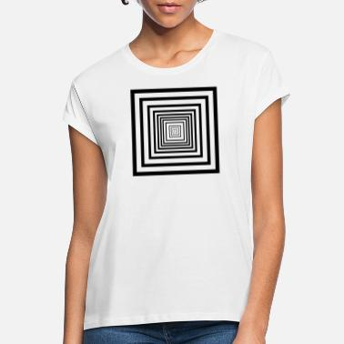 Rectangle rectangles - T-shirt oversize Femme