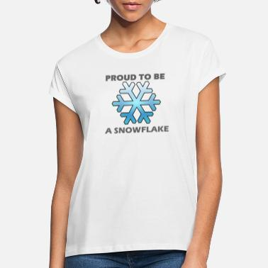Snowflake snowflake - Women's Loose Fit T-Shirt