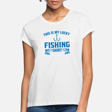 Carp This is my lucky fishing shirt gift - Women's Loose Fit T-Shirt