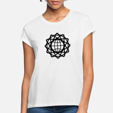 Global connexion globale - T-shirt oversize Femme