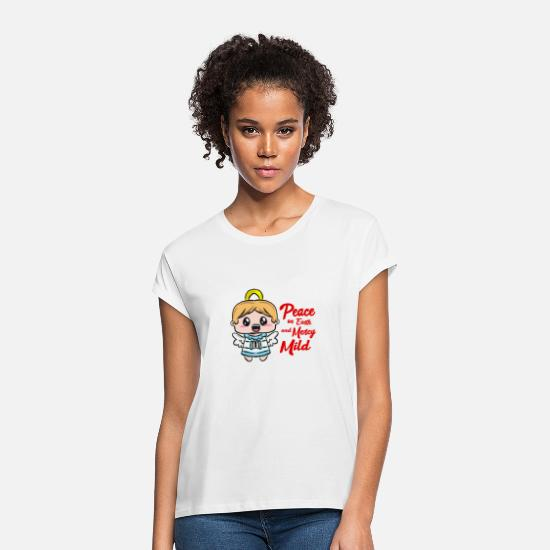 Gift Idea T-Shirts - Christmas angel - Women's Loose Fit T-Shirt white