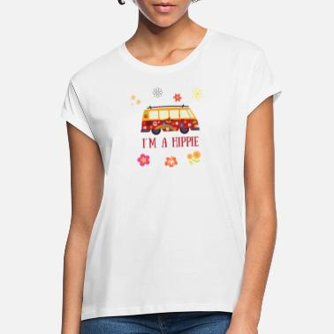 Hippie Flower Power Hippie - Frauen Oversize T-Shirt