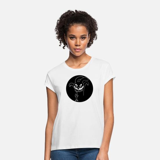 Master Lamp T-Shirts - Halloween Rabbit - Women's Loose Fit T-Shirt white