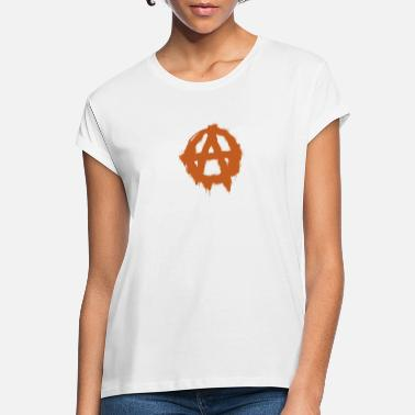Anarchy Anarchy symbol - Women's Loose Fit T-Shirt