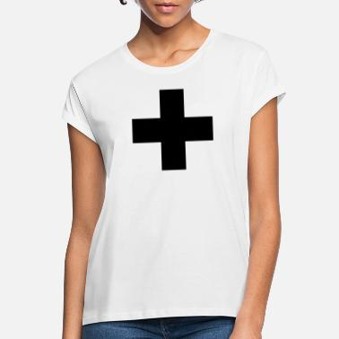 cross3_illustrator10 - T-shirt oversize Femme