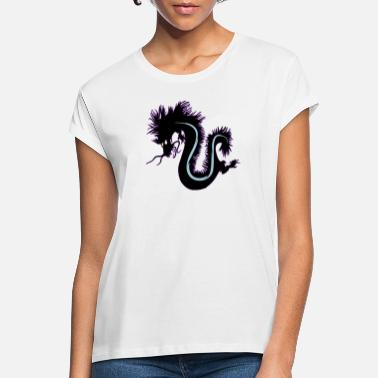 Dragon shadow 影の龍 - Women's Loose Fit T-Shirt