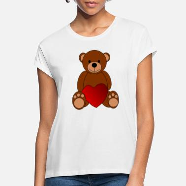 Teddy - Frauen Oversize T-Shirt