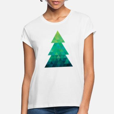 Modern style Christmas tree XMAS - Women's Loose Fit T-Shirt