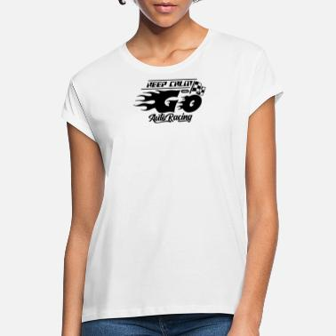 Motor Race motor race - Women's Loose Fit T-Shirt
