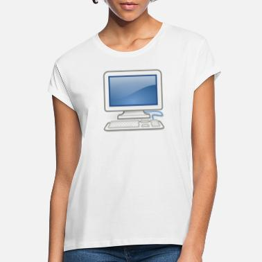Pc great for PC nerds or PC in love - Women's Loose Fit T-Shirt