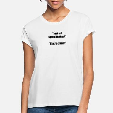 Speed Dating Speed Dating - T-shirt oversize Femme