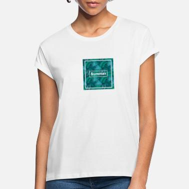 summer simple holiday summer - Women's Loose Fit T-Shirt