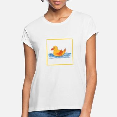 Duck Ducky - the little duck - Women's Loose Fit T-Shirt