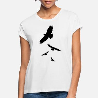 Crow Crows - Women's Loose Fit T-Shirt