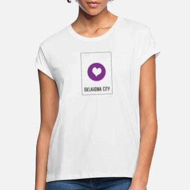 Oklahoma City I Love Oklahoma City - Frauen Oversize T-Shirt