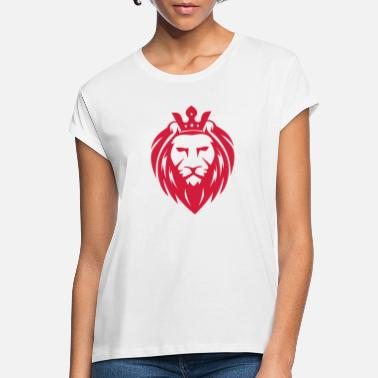Lion Head Lion head - lion head - Women's Loose Fit T-Shirt