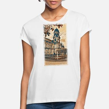 Old Town Old town Dresden in autumn - Women's Loose Fit T-Shirt
