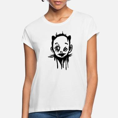 Strange Face Creepy Face - Strange Character - Women's Loose Fit T-Shirt