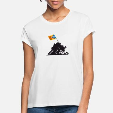 Catalan Iwo Jima Independent - Women's Loose Fit T-Shirt
