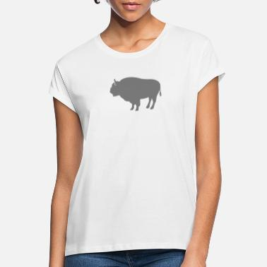 Bison Bison - Women's Loose Fit T-Shirt