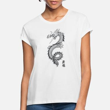 Dragon Chinois Limited Edition dragon - T-shirt oversize Femme