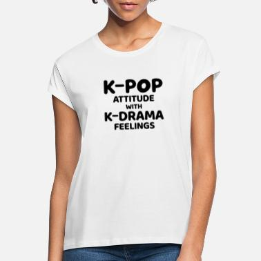 Fanshirt K Pop K Drama Soup Funny - Women's Loose Fit T-Shirt