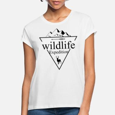 Wildlife Wildlife expeditie - Vrouwen oversized T-Shirt