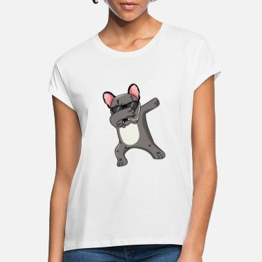 French bulldog dabbing dancing funny - Women's Loose Fit T-Shirt